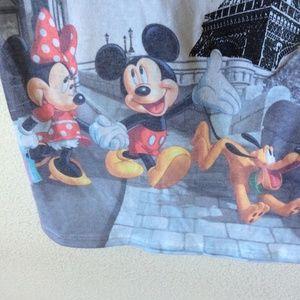 Disney Tops - Disneyparks Epcot Paris Eiffle Tower Mickey Tee